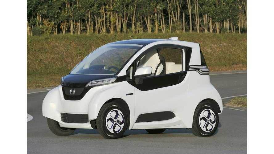 Honda to Field Trial Electric Micro Commuter Prototype This Fall in Japan