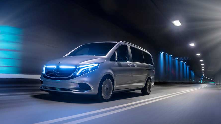 Mercedes-Benz a Ginevra con la Concept EQV full electric