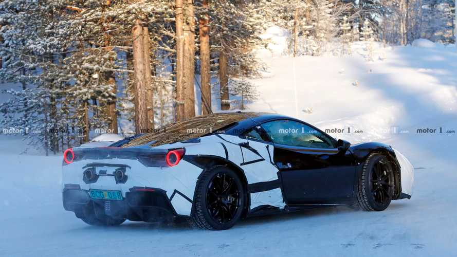 Ferrari Hybrid Test Mule Spy Photos