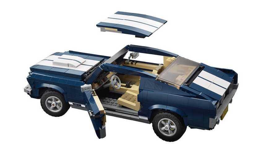 Lego Creator Ford Mustang Set | Motor1.com Photos