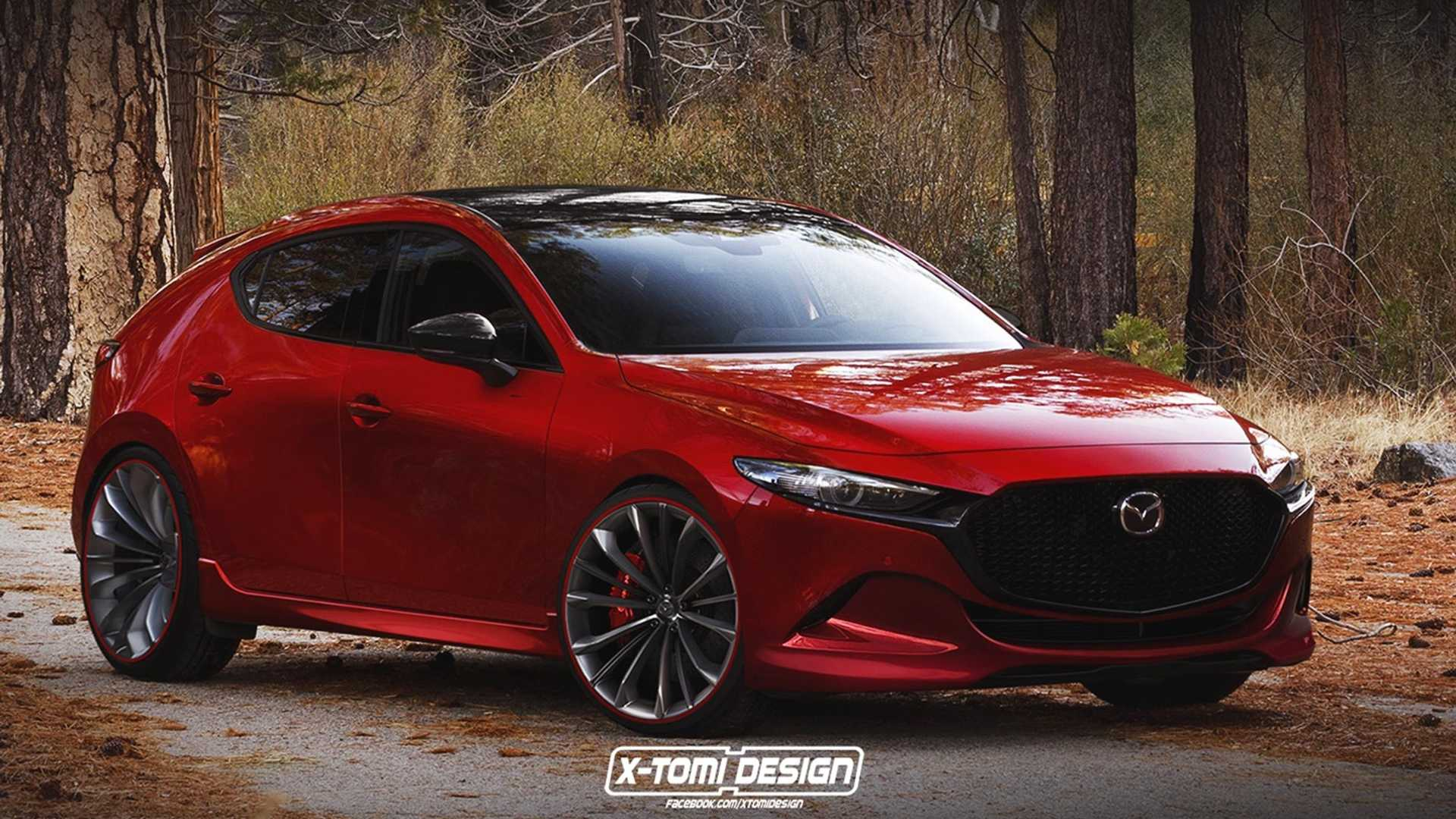 Mazda Speed 3 >> 2019 Mazda Mazdaspeed3 Render Is The Hot Hatch We Re Not Getting