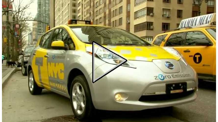 Video: Nissan Discusses NYC LEAF Taxi Pilot Project