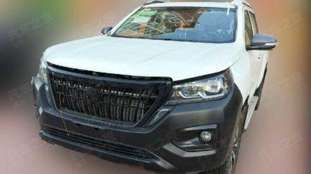 Flagra: Picape média da Peugeot será baseada em modelo chinês