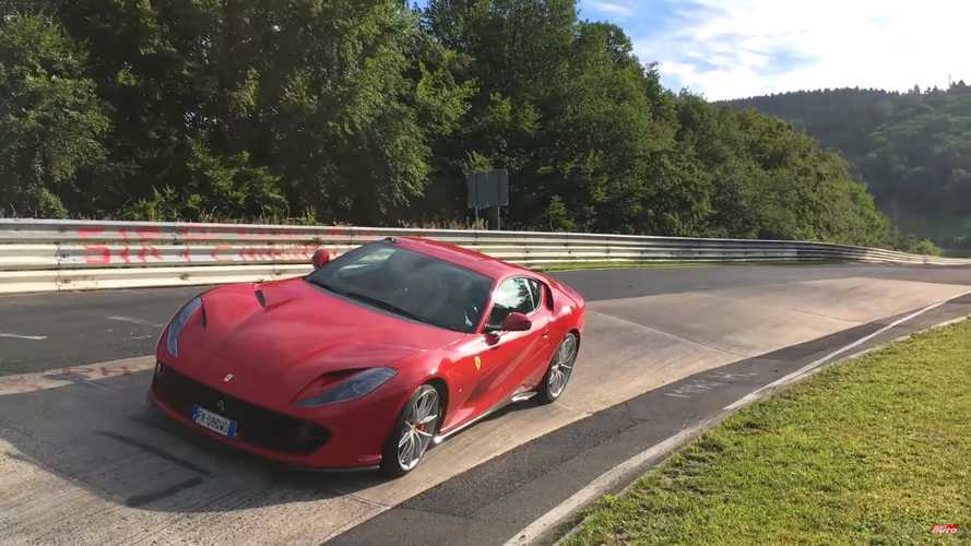 See Ferrari 812 Superfast attack Nürburgring with 7:27 lap