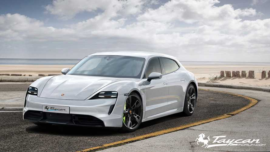 Porsche Taycan Gran Turismo & Targa Rendered In Stunning Form