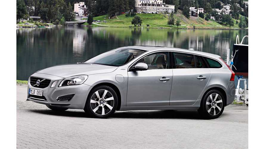 Watch World's First Production Diesel Plug-In Hybrid Come Off Volvo's V60 Line (Video)