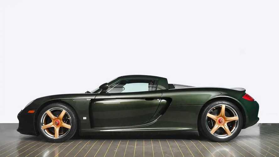 Porsche Carrera GT recommissioned