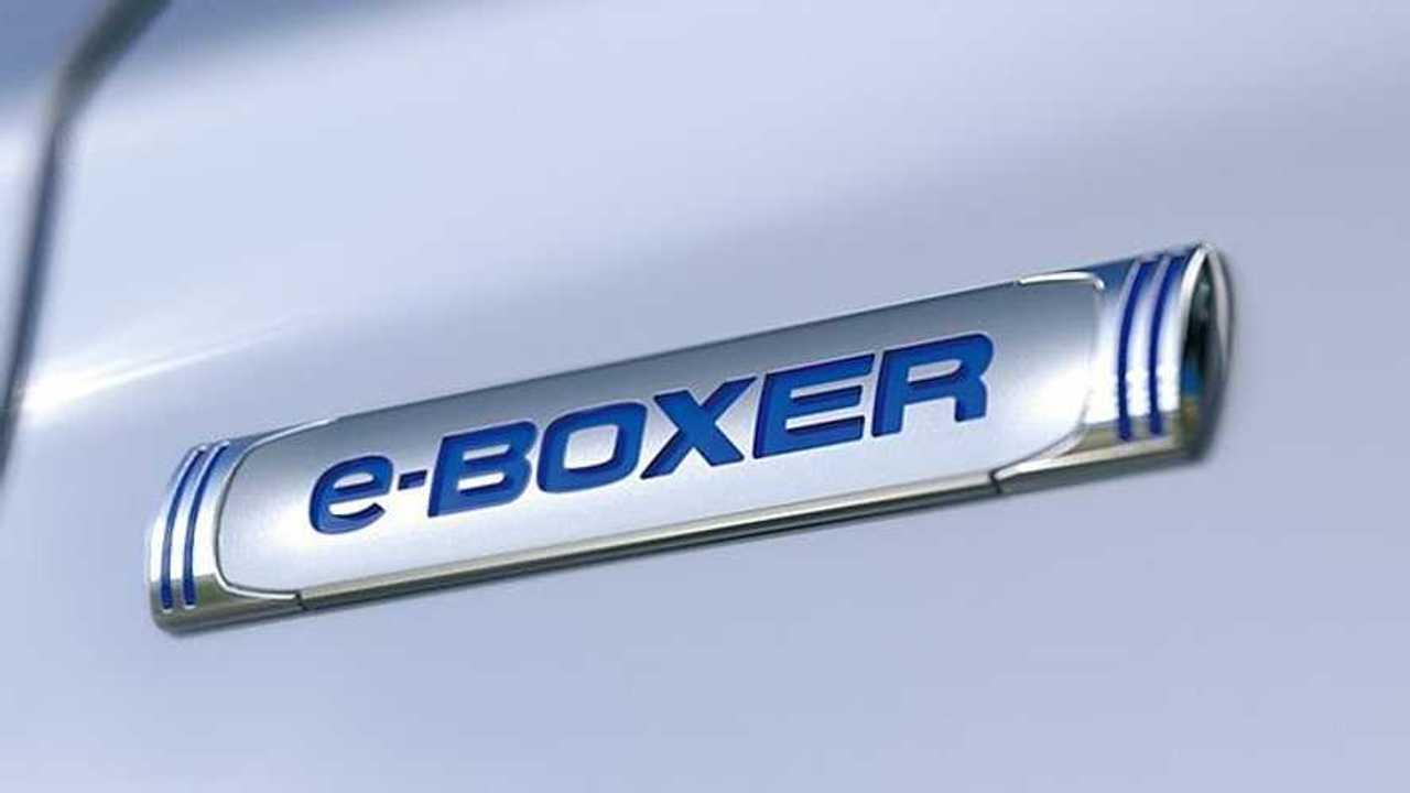 Subaru e-Boxer badge