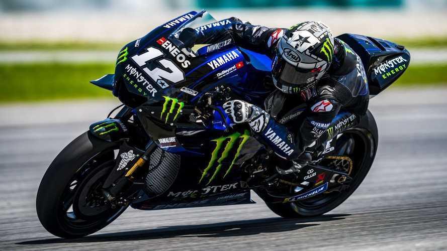Maverick Viñales lidera el segundo día de test de MotoGP en Sepang
