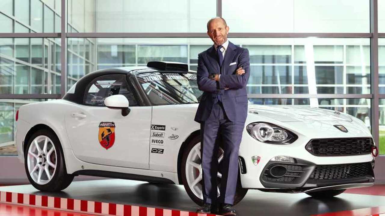 Luca Napolitano, director de Fiat y Abarth en la región EMEA