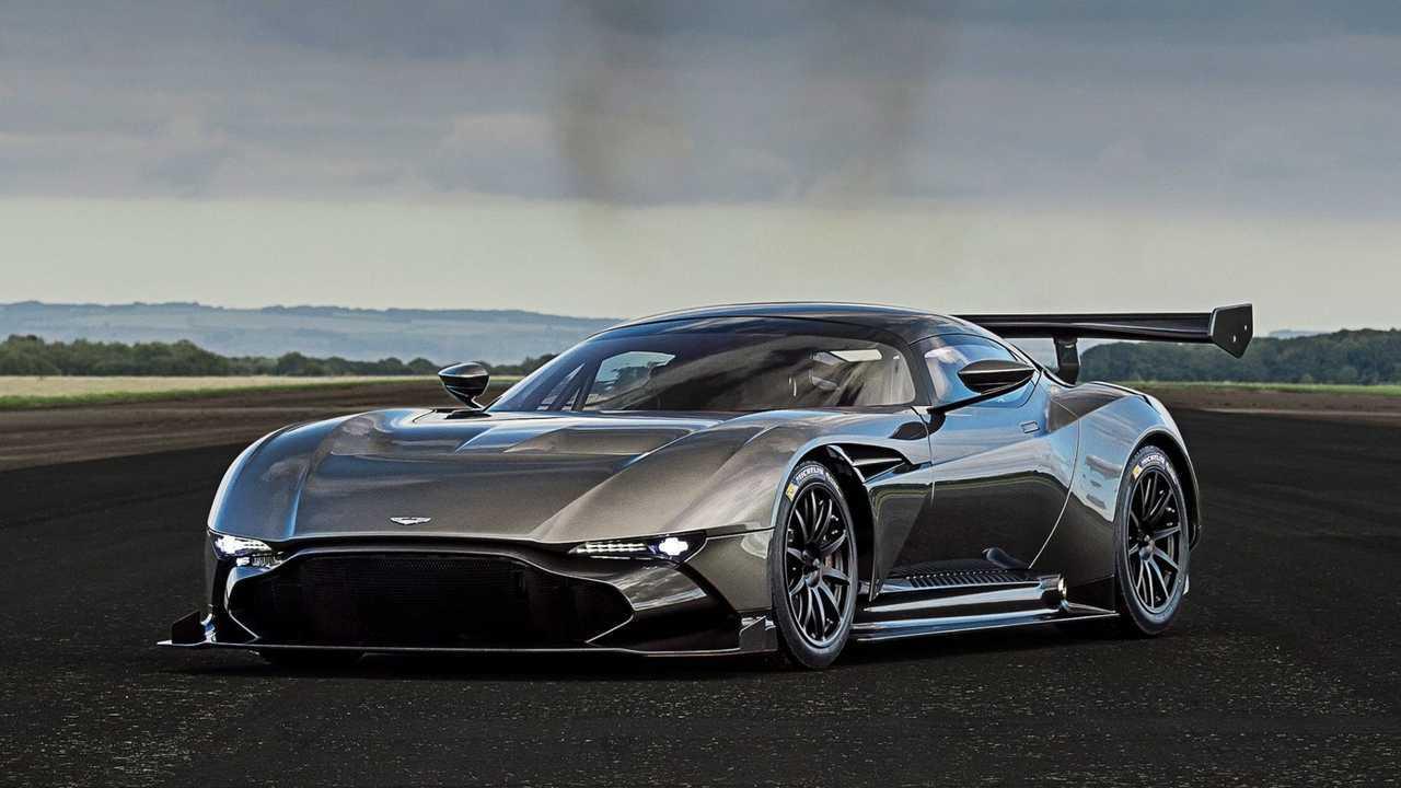 3. Aston Martin Vulcan - 1:15.5