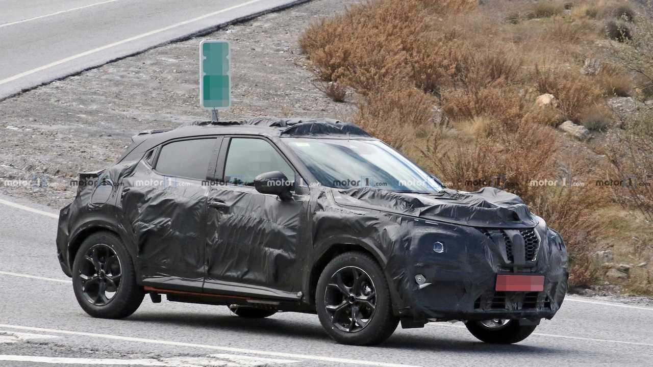 2020 Nissan Juke kémfotók