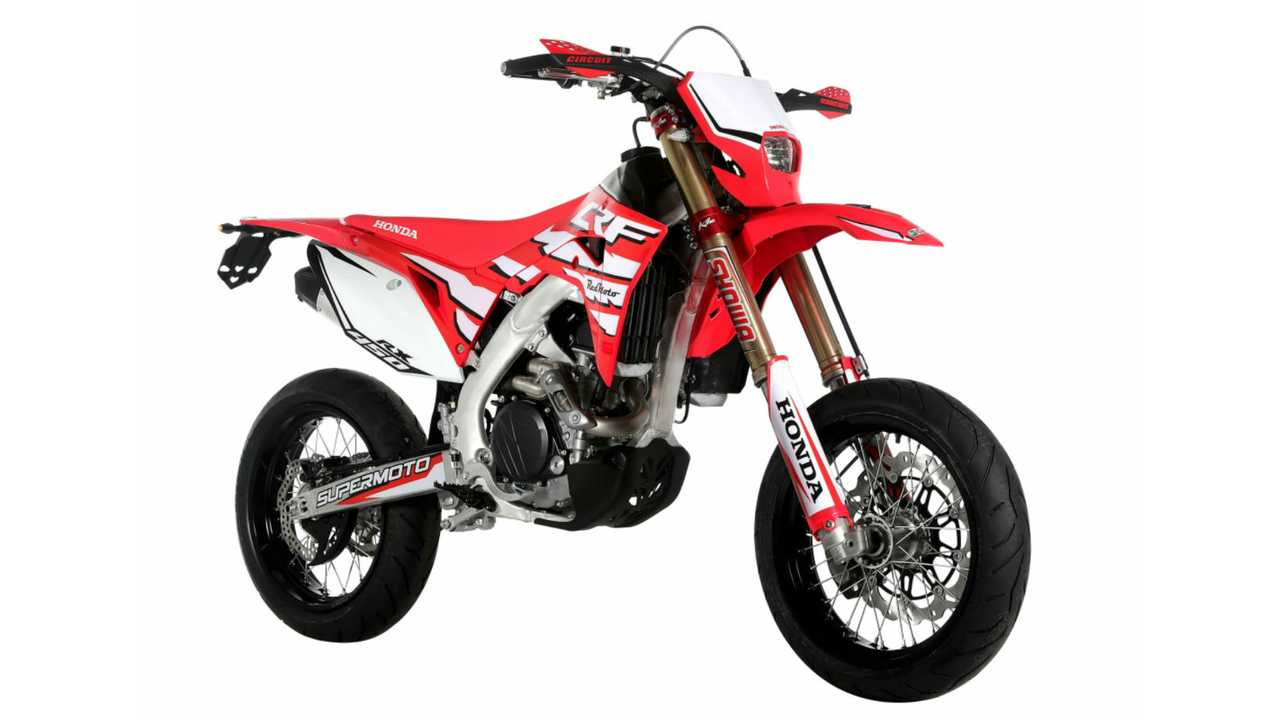 Honda CRF 450 XR Supermoto