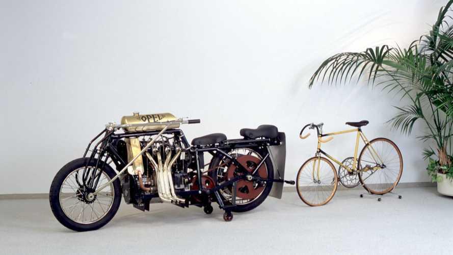 C'era una volta... La moto Opel