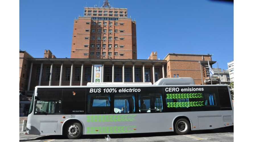 Uruguay Releases Test Results for BYD Electric Bus