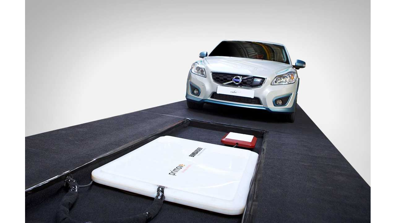 Volvo Car Group Completes Study of Wireless Charging of Electric Vehicles