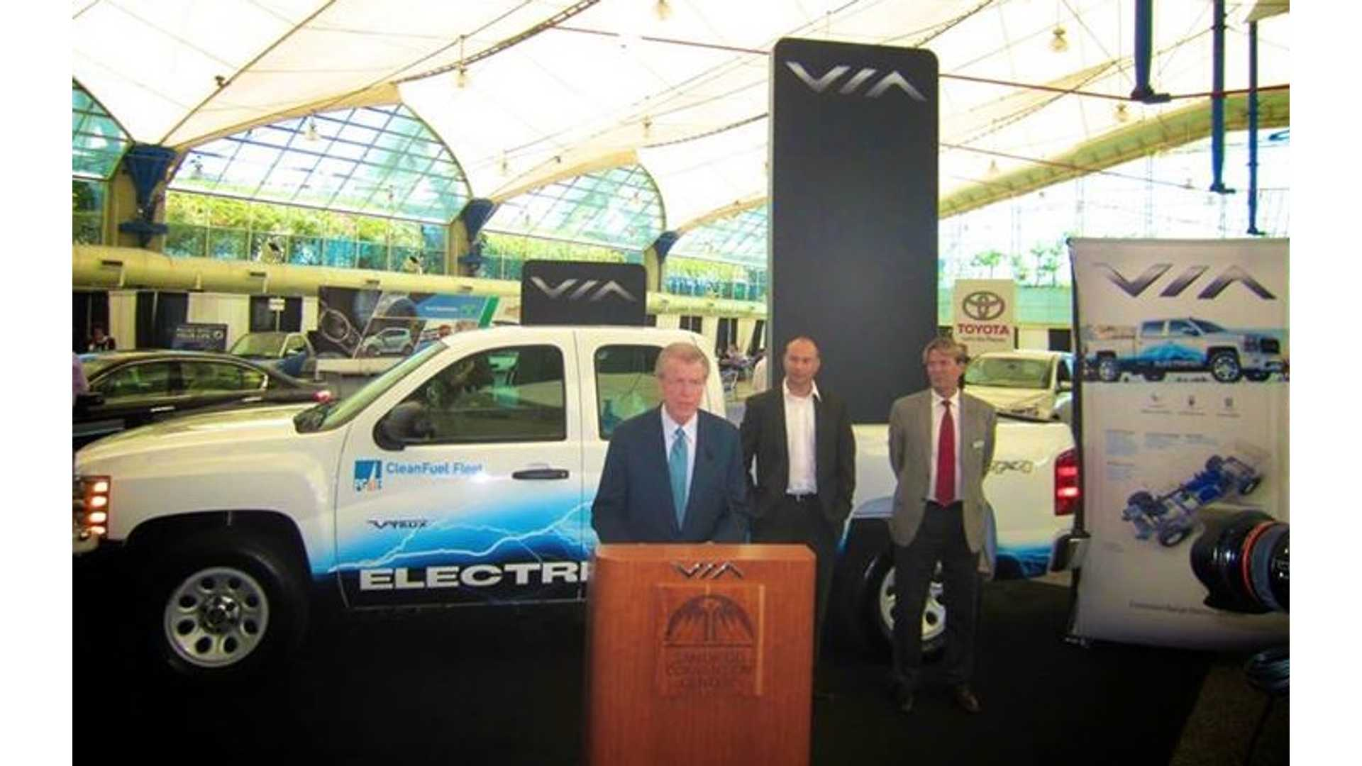 Via Motors Signs 20 Million Deal With Doe For Corporate Fleets Will Start Ing To Public In November
