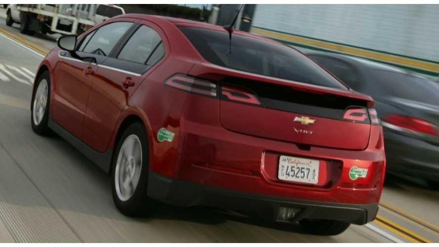 Chevrolet Notches 1,766 Volt Sales In September.  Leases to Blame?