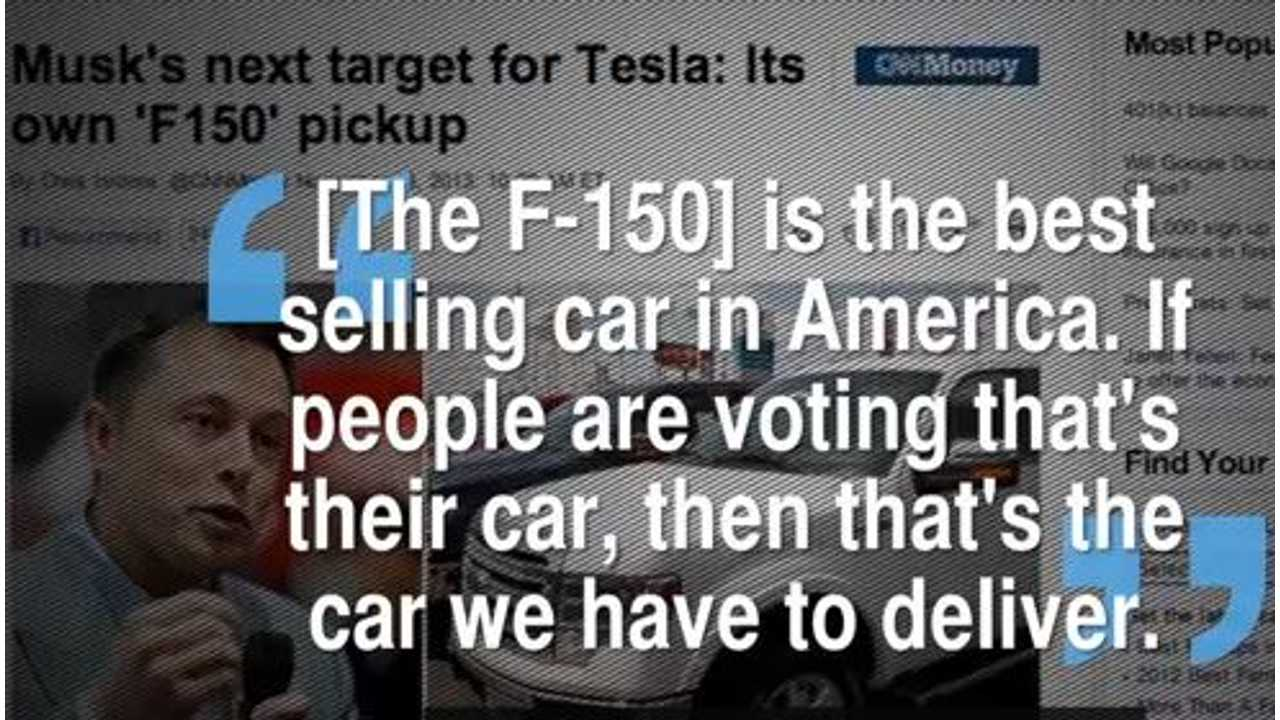 musk quote truck