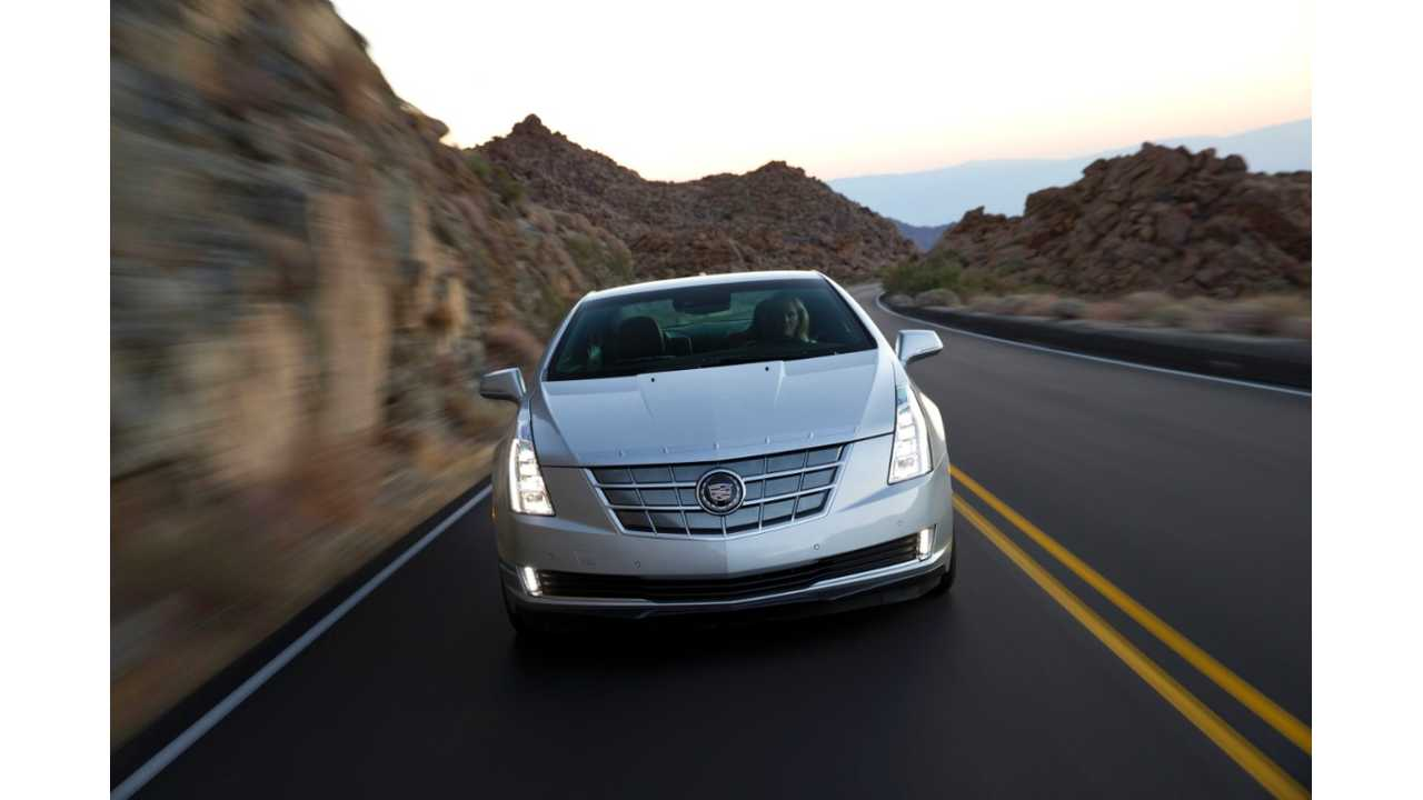 Cadillac ELR Sales Expected to be Around 3,000 Units Per Year By Analysts