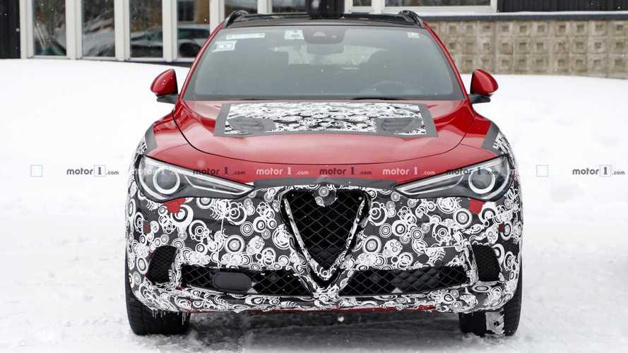 Alfa Romeo Stelvio Facelift Erlkönig