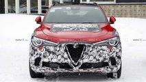 Alfa Romeo Stelvio foto spia