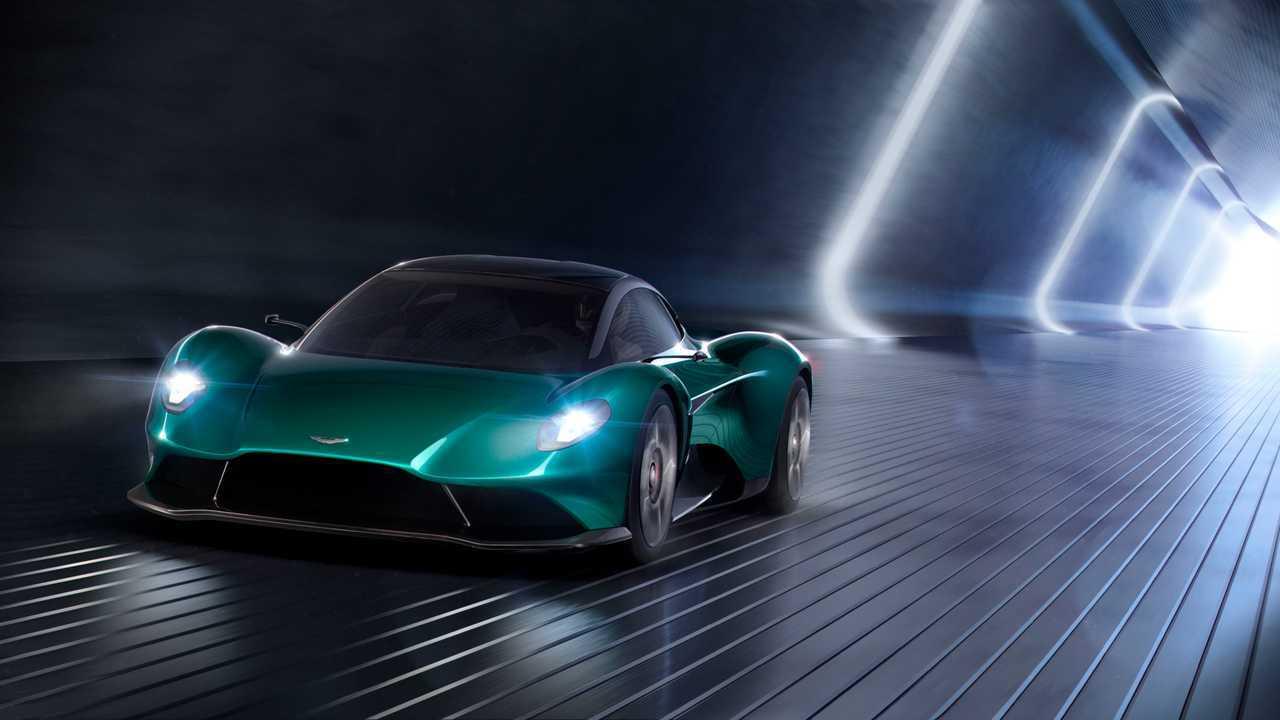Aston Martin Vanquish Vision koncepció