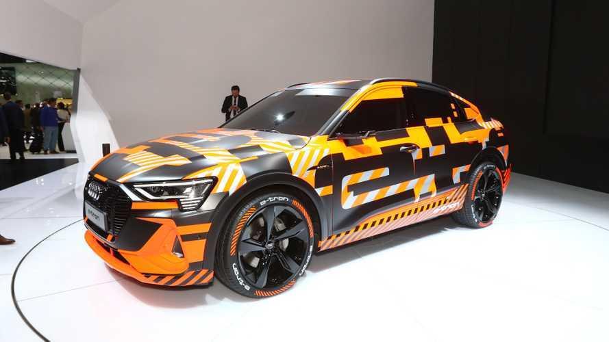 Audi e-tron Sportback, a Ginevra il SUV coupé è elettrico