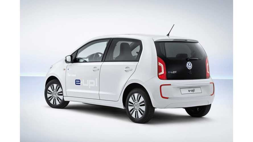 "Volkswagen e-Up! is ""Shockingly Good"" - Almost in BMW i3 Territory"