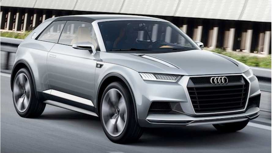 370-Mile Audi Q8 E-Tron Gets Production Green Light