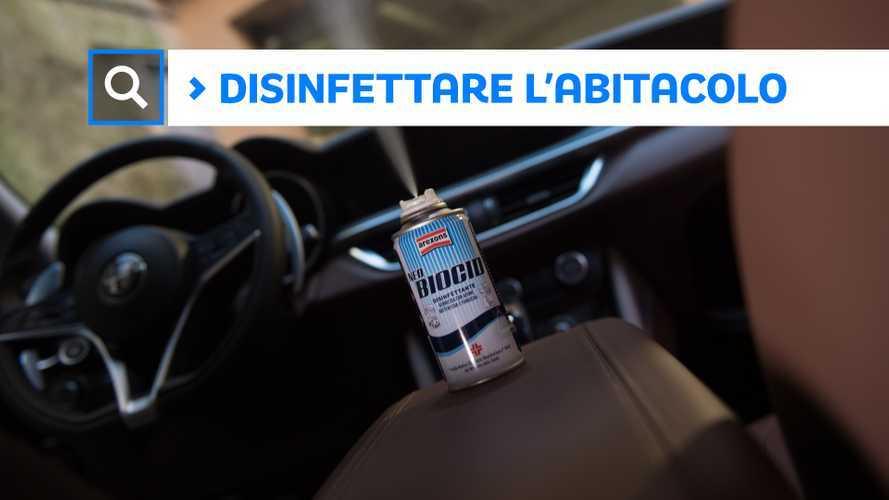 Pulizia auto, come disinfettare gli interni