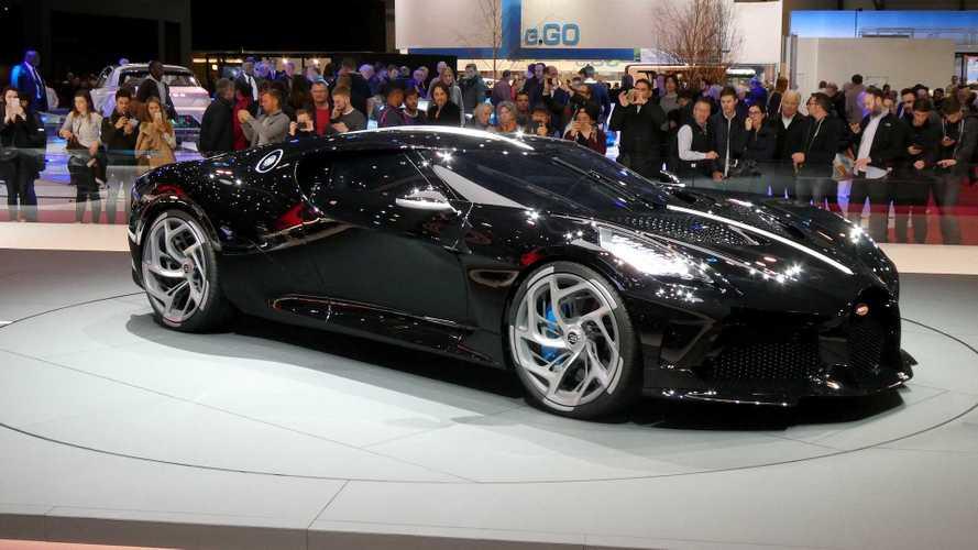 La Bugatti 'La Voiture Noire' n'est pas pour Cristiano Ronaldo