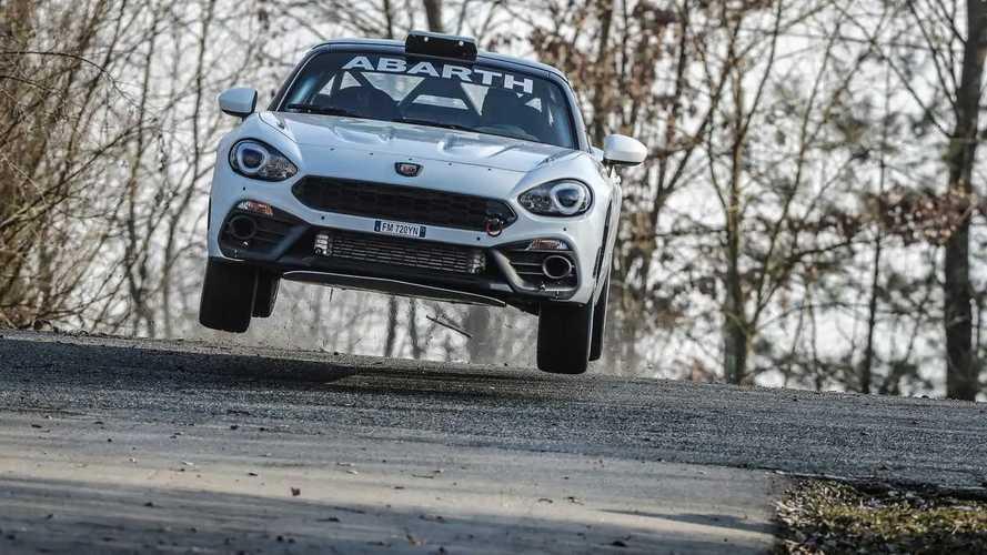 2019 Abarth 124 rally car