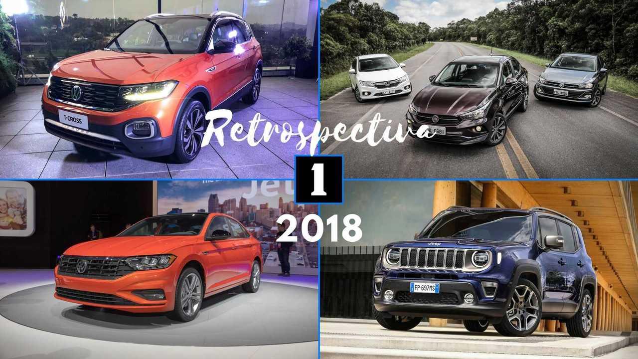 Retrospectiva Lançamentos 2018