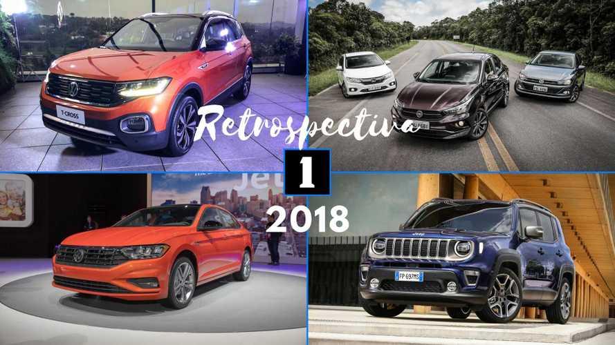Retrospectiva Motor1.com 2018: Novo Corolla, T-Cross, Cronos e Virtus agitaram o ano