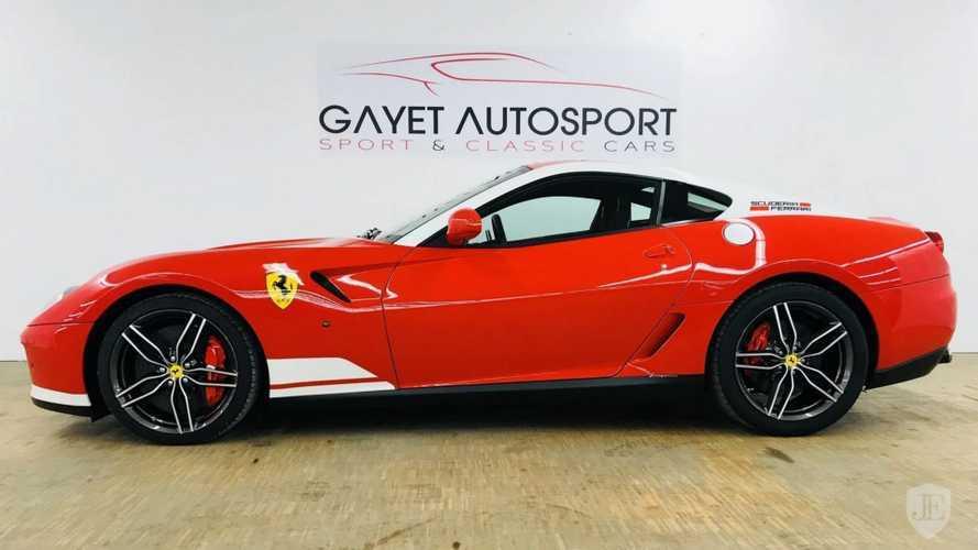 Eladóvá vált két darab Ferrari 599 GTB 60F1 Alonso Edition