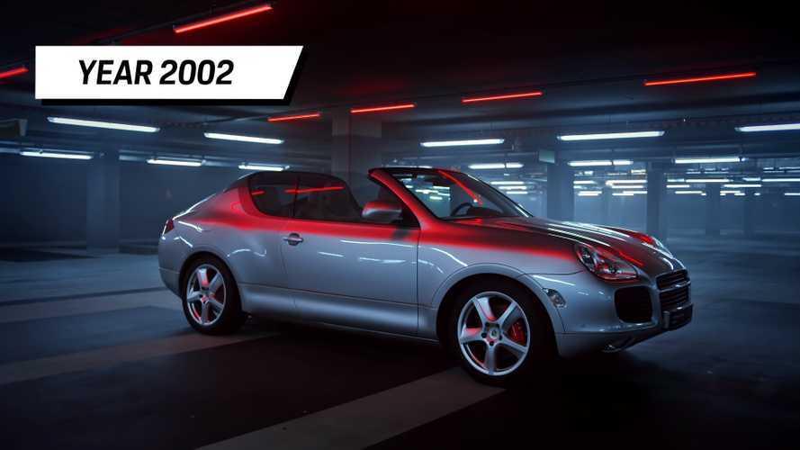 Megmutatta az öt legjobban sikerült, eddig eltitkolt prototípusát a Porsche