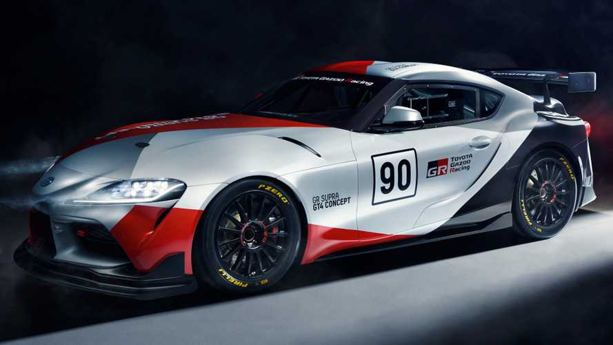 Toyota GR Supra GT4 Concept Unveiled With Racing Ambitions