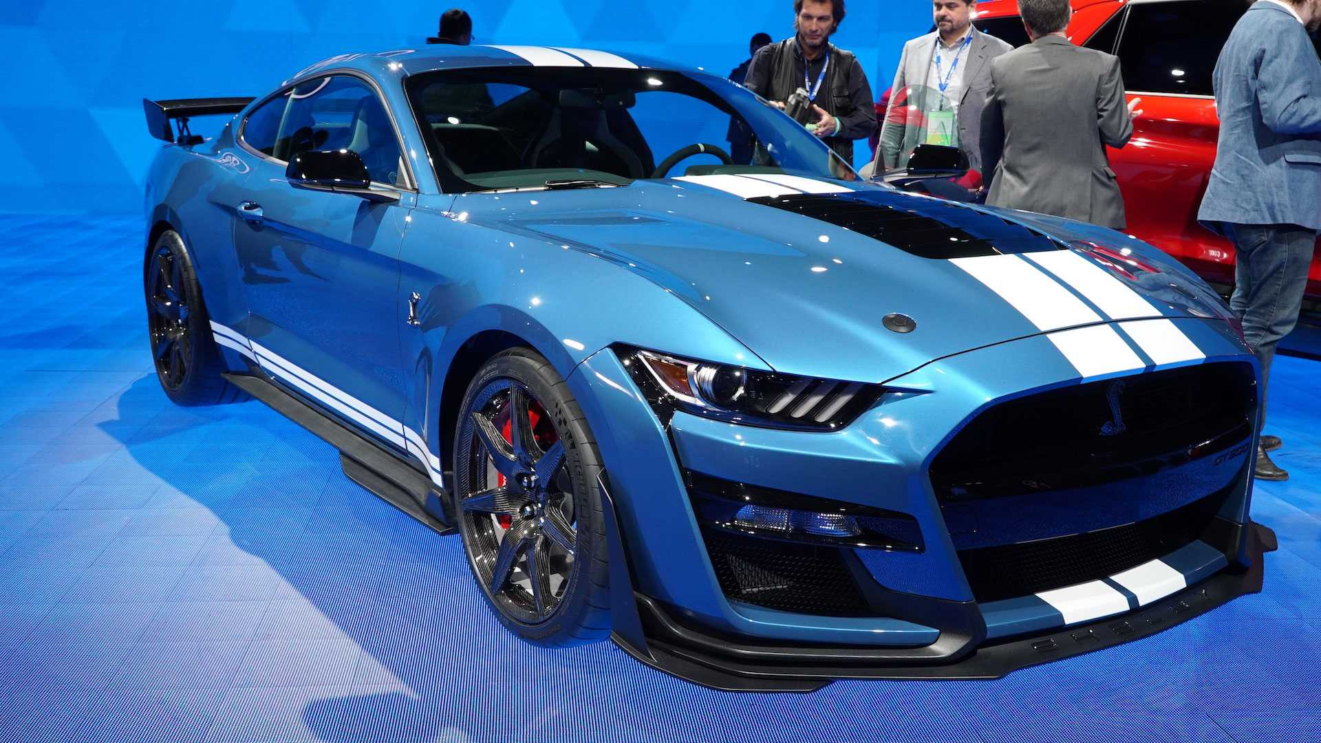 2020 ford shelby gt500 live from the detroit auto show