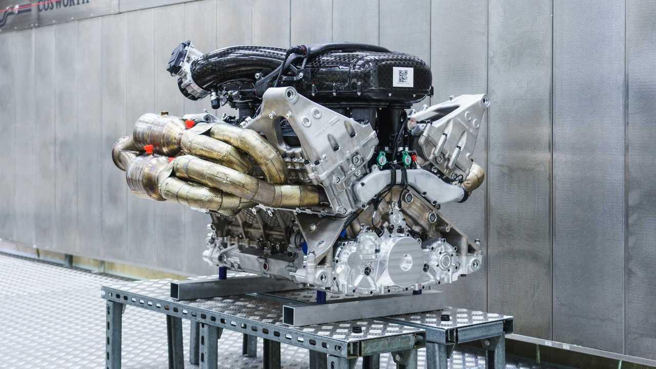 Aston Martin Valkyrie's Cosworth V12 engine