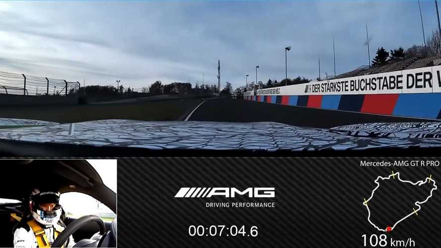 VIDÉO - La Mercedes-AMG GT R Pro se frotte à la Nordschleife