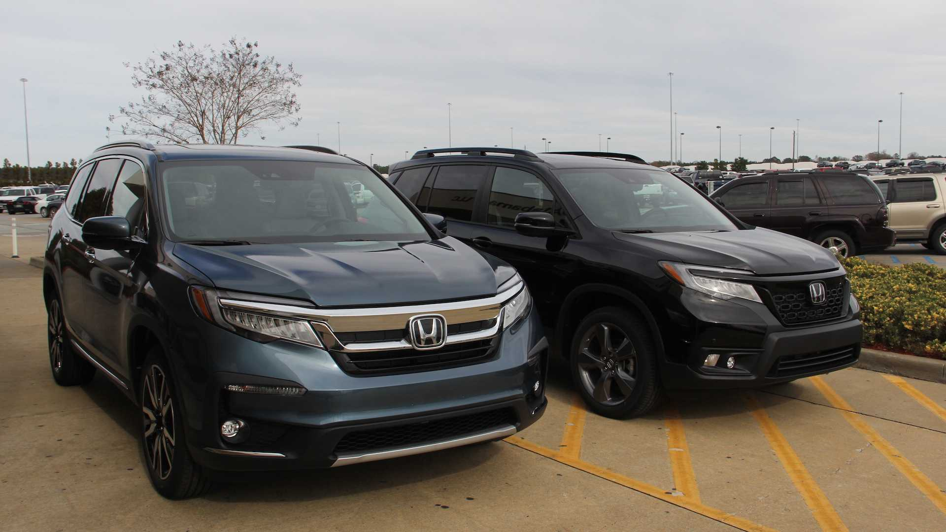 See The Differences 2019 Honda Passport Versus 2019 Honda Pilot