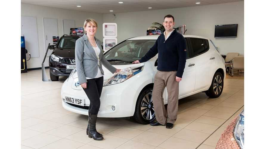 Video: Meet the 100,000th Nissan LEAF Owner