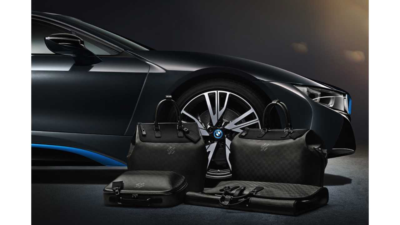 BMW i8 Gets Custom Louis Vuitton Luggage
