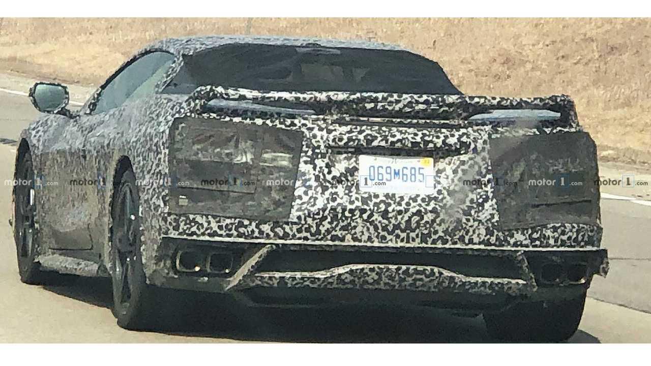 Chevrolet Corvette C8 à moteur central