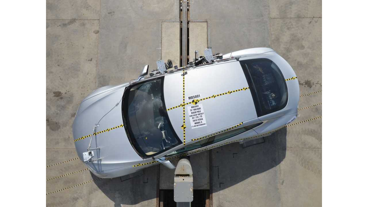 Clearing Up the Confusion: Tesla Model S Crash Test Safety Score Versus the NHTSA's Slap-on-the-Wrist Response