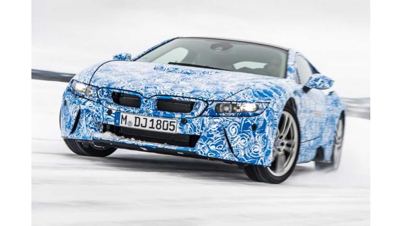 2015 BMW i8 to Debut in Production Form at Frankfurt Motor Show