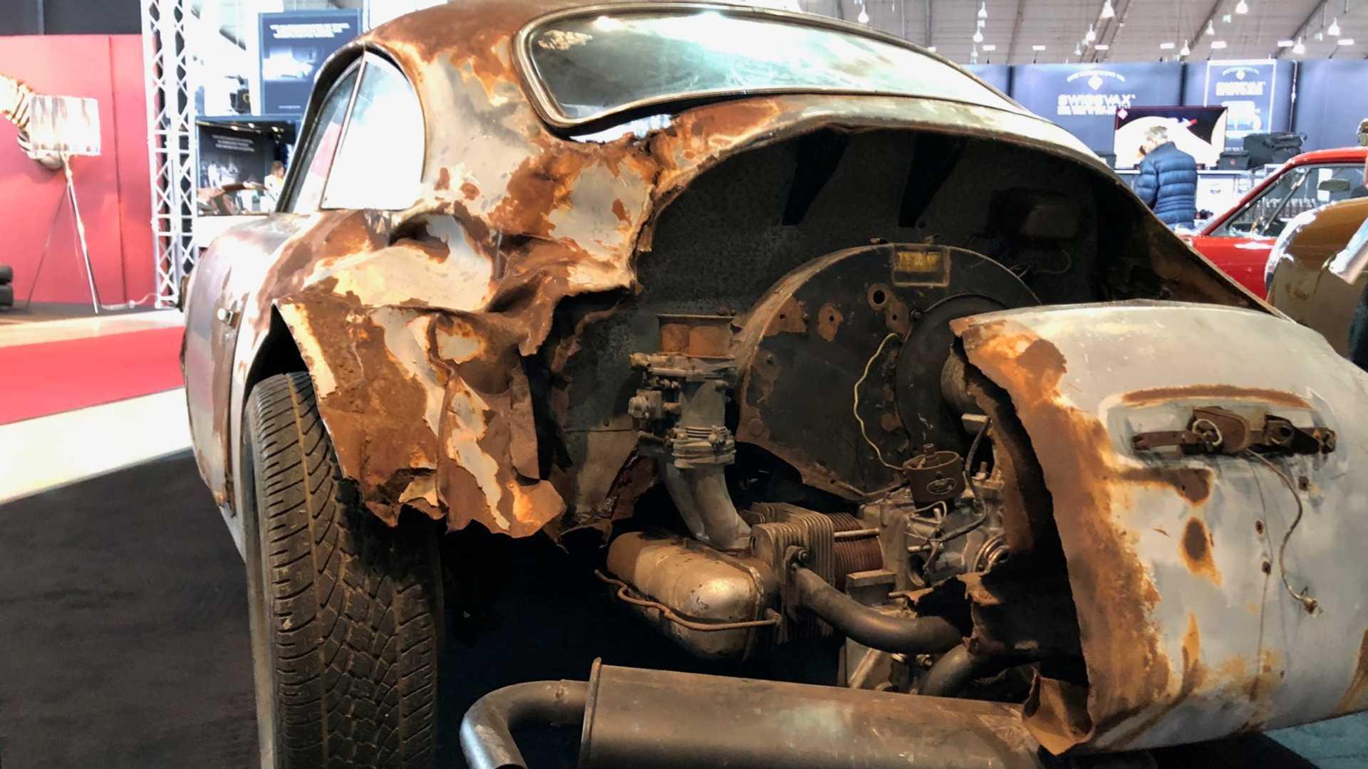 """[""""1955 Porsche 356 Pre-A Barn Find""""]"""