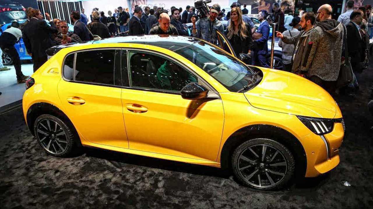 Top: Peugeot 208