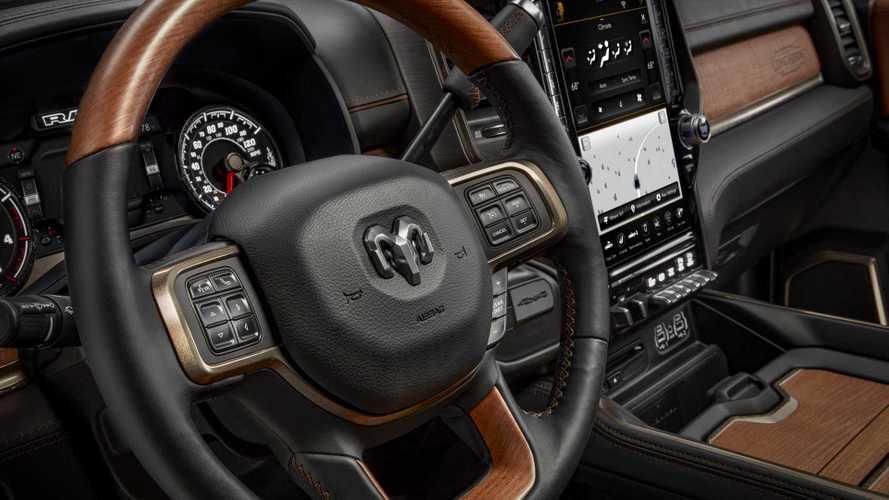 Dodge Ram 5500 >> 2019 Ram Laramie Longhorn Interior | Motor1.com Photos